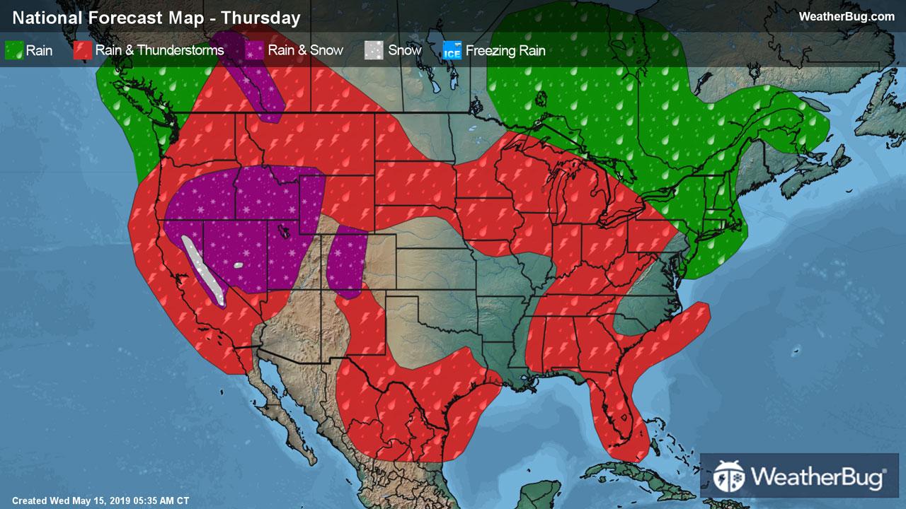 10 Day Weather Forecasts Weekend Weather Weatherbug