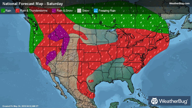10-Day Weather Forecasts & Weekend Weather | WeatherBug