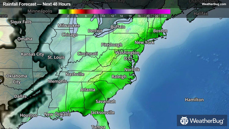 Usa Map North Carolina%0A Almo  ID   Current Weather Forecasts  Live Radar Maps  u     News   WeatherBug