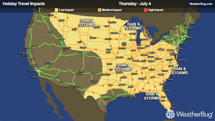 Current Weather Forecasts Live Radar Maps News Weatherbug - Current-weather-map-of-us