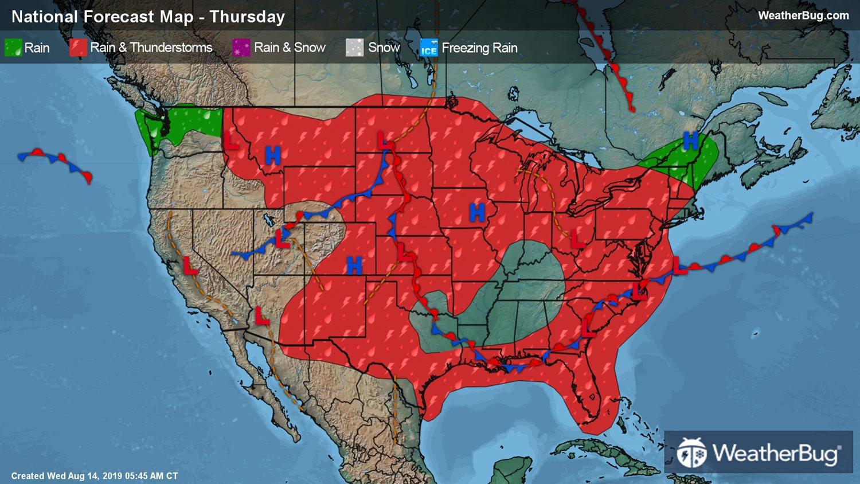 Local and National Weather Forecasts, Radar & News | WeatherBug