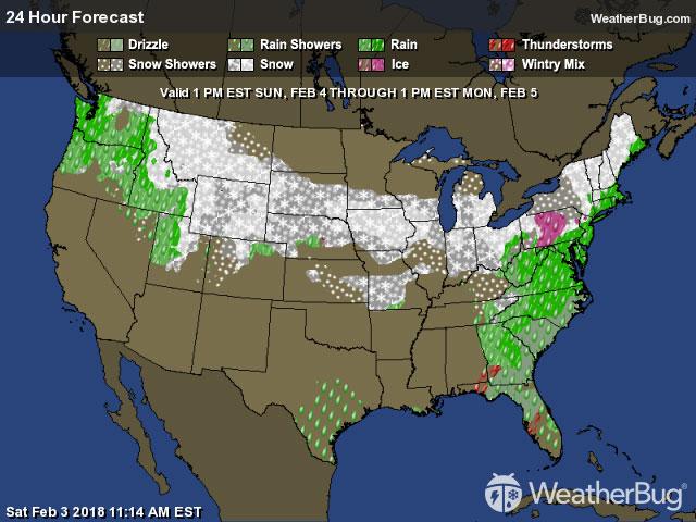 Local and National Weather Forecasts Radar News WeatherBug